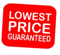 Lowest Price Garanteed