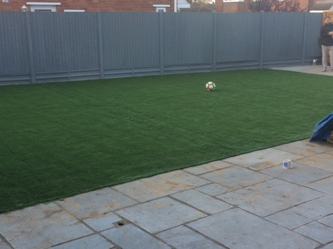 Football pitch in your back garden?