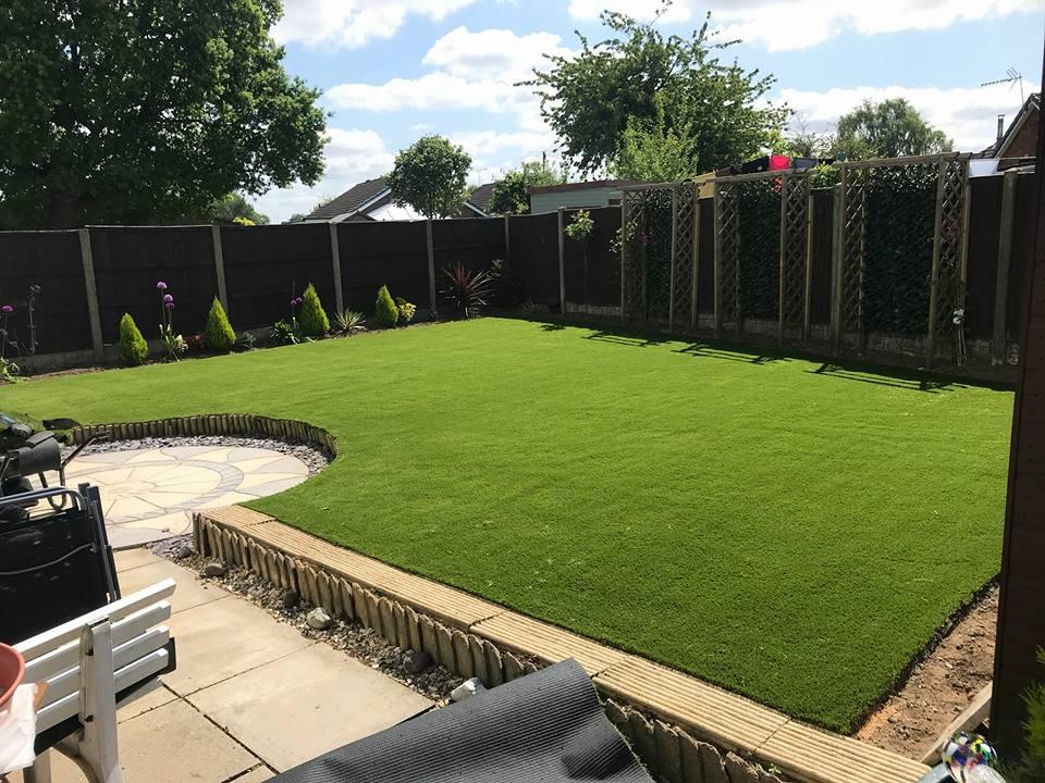 Shaped gardens
